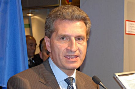 Gunther Oettinger, EU digital commissioner. Pic: Götz A. Primke