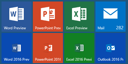 what is new ms office 2016