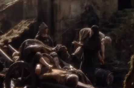 Monty Python death peasant collector