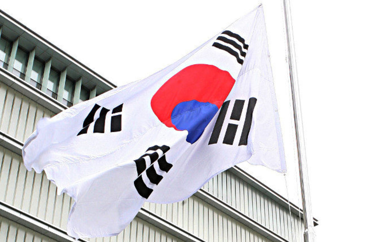 South Korean Flag Pic: Republic Of Korea