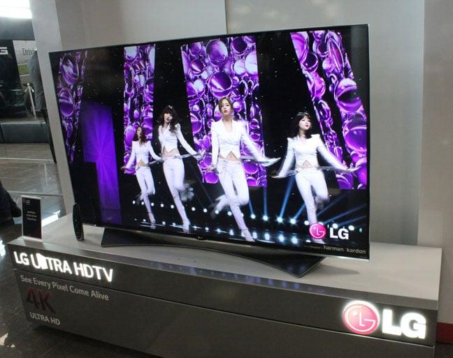 LG 4K LED UF950V