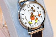 Mickey Mouse watch. Pic: Joe Haupt