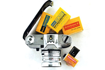 Kodak film selection