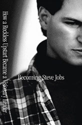 Becoming Steve Jobs, book cover