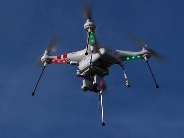 Drug drone not high enough: Brit lags' copter snared on prison wire