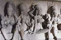 Ancient cave frieze. Pic: Leon Yaakov