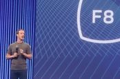 Facebook's Mark Zuckerberg, speaking at the 2015 F8 conference