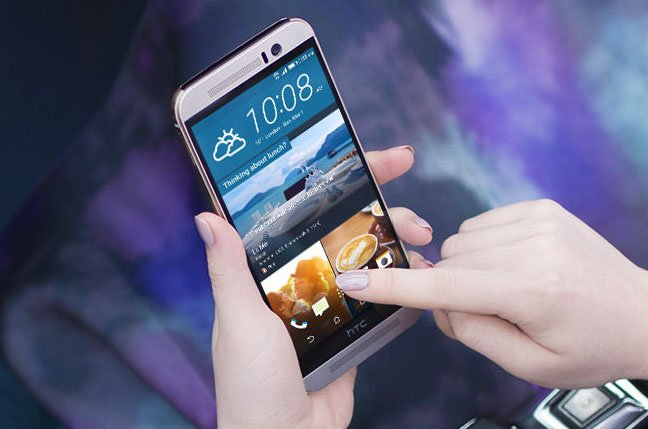 HTC One M9 Android smartphone