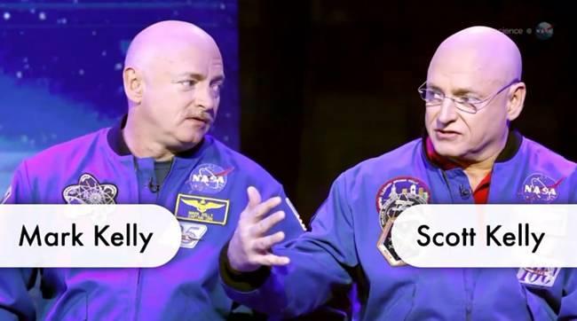 NASA's Kelly twins