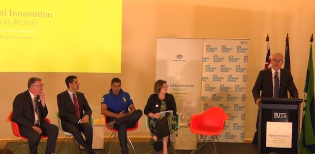 Malcolm Turnbull at the Digital Innovation Forum