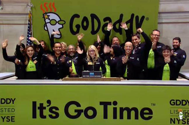 Go, daddy, go: GoDaddy shares rocket 30% in value at IPO