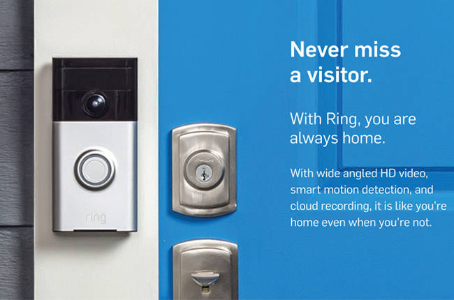 The Next Nest We Talk To Ring The Doorbellcomesecurity System - Front door camera iphone