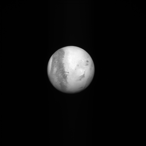 Mars as seen by Rosetta