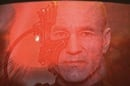 Locutus of Borg, aka Patrick Stewart aka Jean Luc Picard