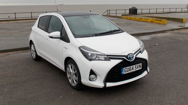Toyota Yaris Hybrid Halfpint composite for the urban jungle