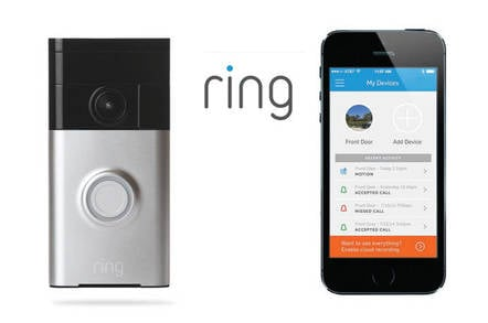 Ding-dong, the cloud calling: The Ring Video Doorbell • The