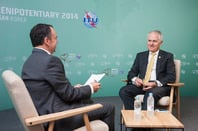 Malcolm Turnbull from ITU pictures flickr feed https://www.flickr.com/photos/itupictures/