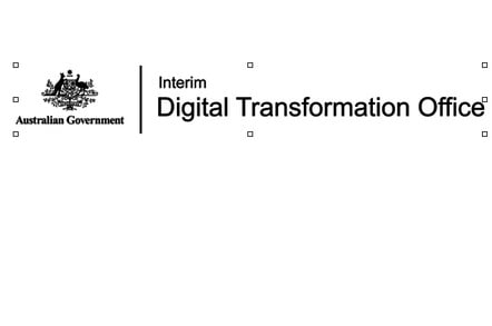 Interim logo for Digital Transformation Office