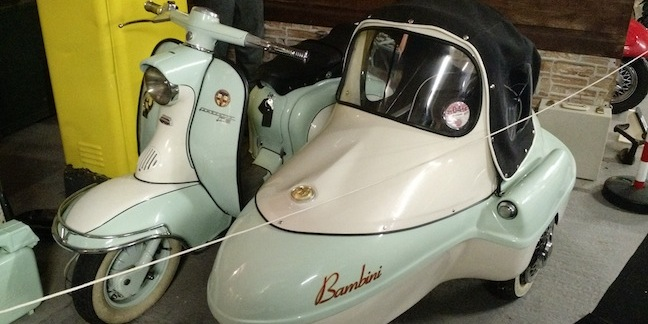 Bubblecar Lambretta Bambini Sidecar