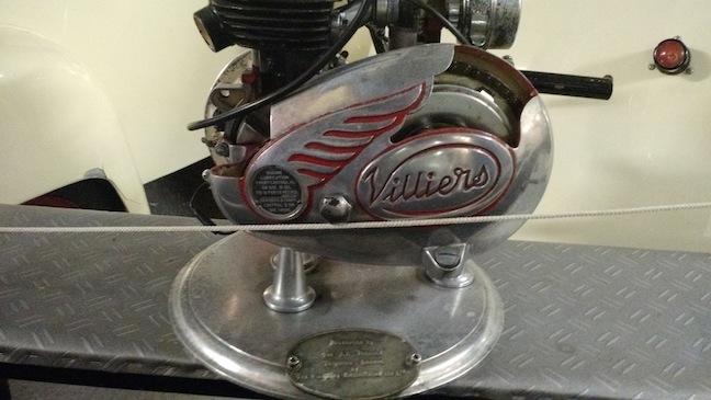 Bubblecars Villiers Engine