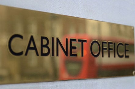 Cabinet Office sign. Pic: Sgt Tom Robinson RLC/Crown copyright