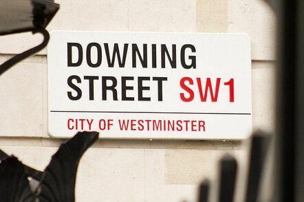 Downing Street sign. Pic: Sgt Tom Robinson RLC/Crown copyright