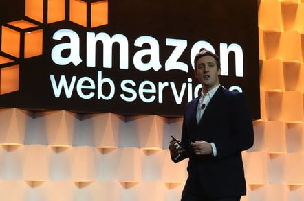 Amazon's Dr. Matt Wood, speaking at AWS SFO Summit 2015