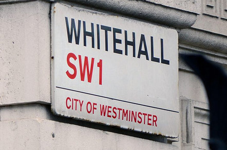 Whitehall road sign. Sgt Tom Robinson RLC/Crown copyright
