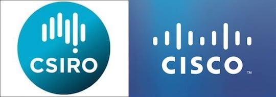 Cisco and CSIRO logos