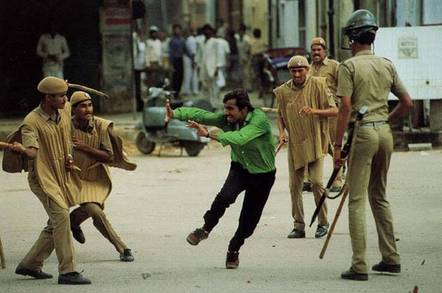 Indian riot
