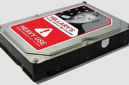 Hilary Clinton's Hard Disk