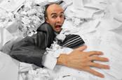 Sinking in paper