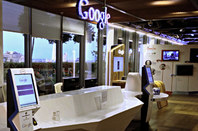 Google UK reception. Pic: Bob Dormon