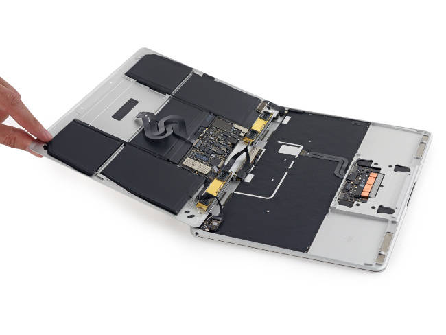 MacBook Pro Retina sans cover