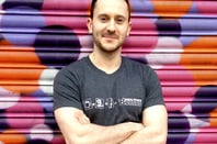 A member of Vulture Central poses in the SPB Equation t-shirt