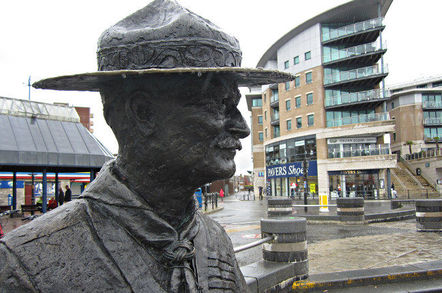 Robert Baden-Powell, Chief Scout. Pic: Matt Brown, Flickr