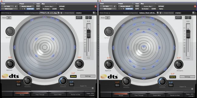 DTS:X MDA plug-in