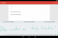 Google handwriting recognition app