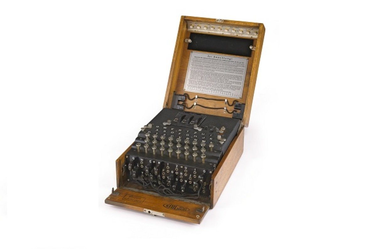 Ww2 German Enigma Machine Auctioned For Record Breaking