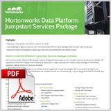 Hortonworks data platform jumpstart services package