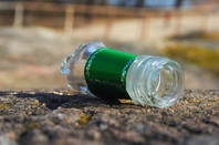 Broken bottle by https://www.flickr.com/photos/veisto/ CC 2.0
