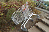 Shopping trolley. Pic: Mikey, Flickr