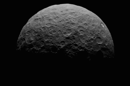 Ceres' bright spots  Credit: NASA/JPL-Caltech/UCLA/MPS/DLR/IDA