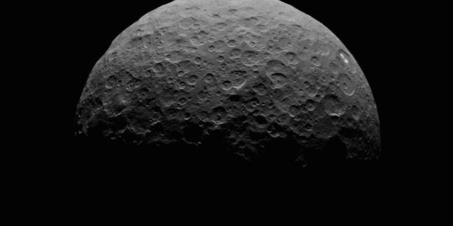 Ceres' bright spots  Credit: NASA/JPL-Caltech/UCLA/MPS/DLR/IDA