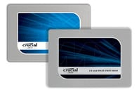 Crucial BX100 and MX200 SSDs