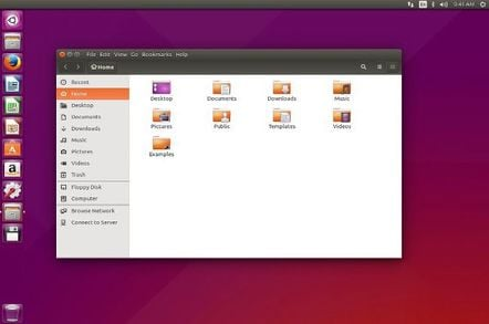 Ubuntu 15.04 screenshot