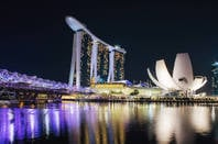 Marina Bay hotel singapore. By https://www.flickr.com/photos/leonid_yaitsky/
