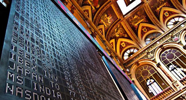 Stock market. Pic: Alberto Carrasco Casado