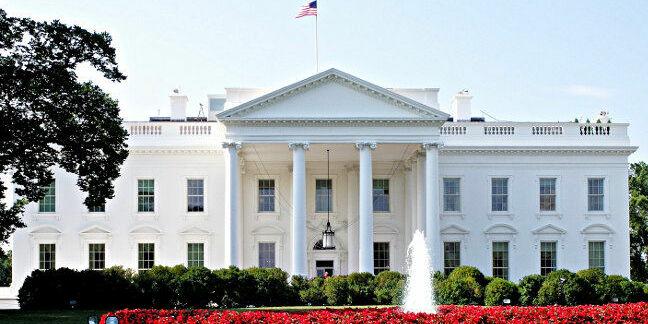 The US White House. Pic: Roman Boed