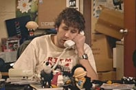 IT Crowd's Roy:on the phone